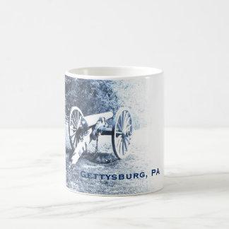Mug canon sur le champ de bataille de Gettysburg
