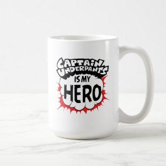 Mug Capitaine Underpants | mon héros