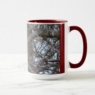 Mug Cardinal rouge de sonnerie
