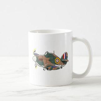 Mug caricature d'ouragan de colporteur