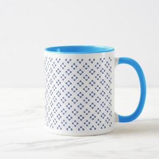 Mug Carré de Lotus bleu de puissance
