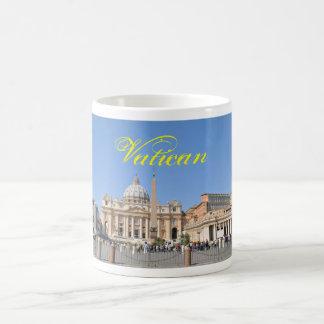 Mug Carré de San Pietro à Vatican, Rome, Italie