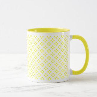 Mug Carré jaune de Lotus