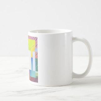 Mug Carrés abstraits