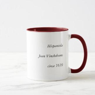 Mug Carte 1639 historique de Hispaniola - Joan