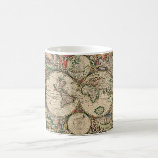 Mug Carte antique du monde