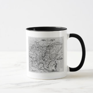 Mug Carte de Rome antique
