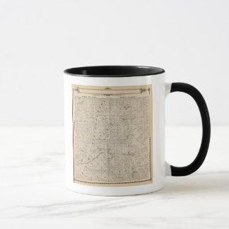 Mug Carte de section de T1617S R3031E Tulare County