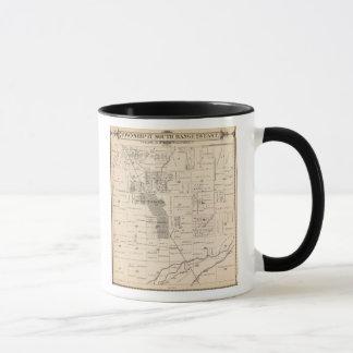 Mug Carte de section de T17S R23E Tulare County