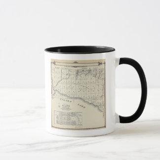 Mug Carte de section de T2021S R2021E Tulare County