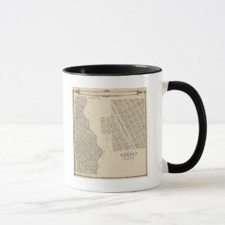 Mug Carte de section de T2124S R3637E Tulare County