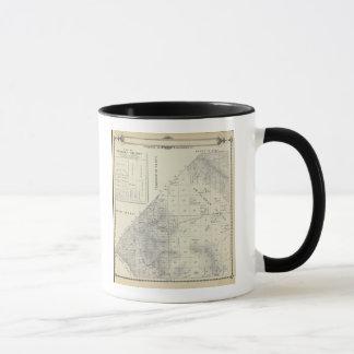 Mug Carte de section de T2223S R1617E Tulare County