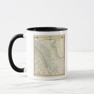 Mug Carte de section de T2223S R1819E Tulare County