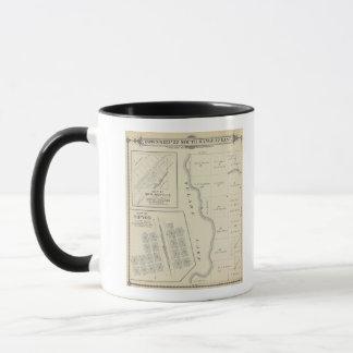 Mug Carte de section de T22S R22E Tulare County
