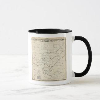 Mug Carte de section de T22S R25E Tulare County