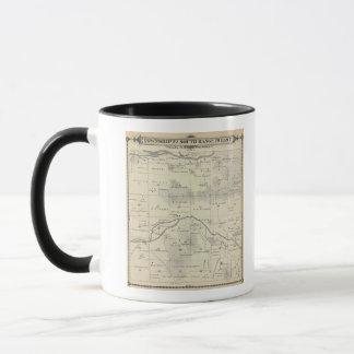 Mug Carte de section de T22S R28E Tulare County