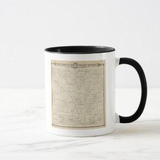 Mug Carte de section de T23S R29E Tulare County