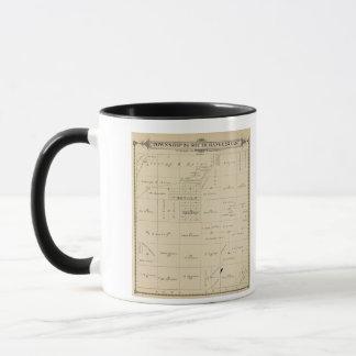 Mug Carte de section de T24S R23E Tulare County