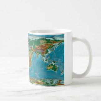 Mug Carte géographique du monde