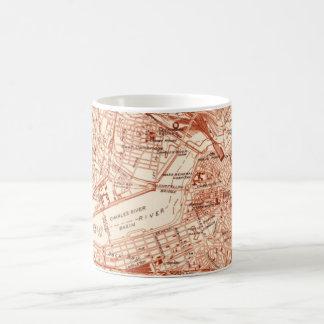 Mug Carte vintage de Boston
