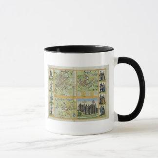 Mug Cartes de York, de Shrewsbury, de Lancaster, et de