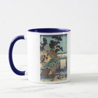 Mug Cascade de gaok d'Aoi, Katsushika Hokusai