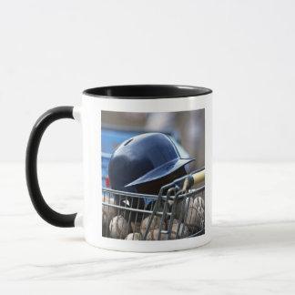Mug Casque et boule de base-ball