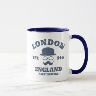 Mug Casquette de lanceur de hippie de Londres