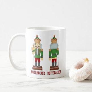 Mug Casse-noix drôle Buttcracker de Noël humoristique