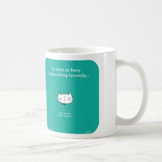 Mug CAT004, chat, buste, repos