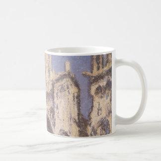 Mug Cathédrale de Rouen, or bleu d'harmonie par Claude