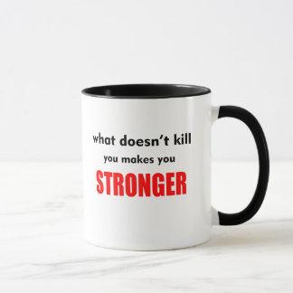Mug Ce qui ne tue pas vous vous fait CoffeeMug plus