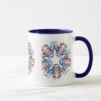 Mug Cellules colorées