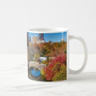 Mug Central Park dans le feuillage New York d'automne