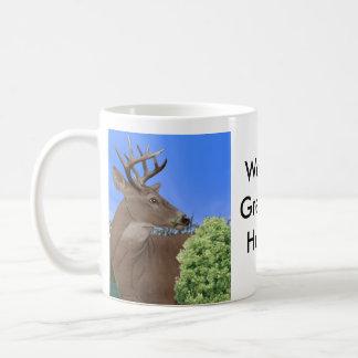 Mug Cerfs communs de mâle de Whitetail, le plus grand