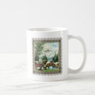 Mug Cerfs communs d'hiver