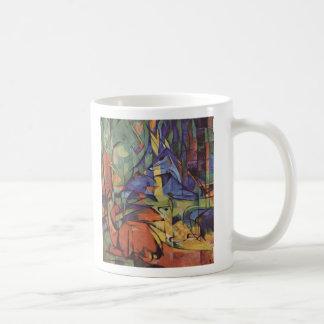 Mug Cerfs communs - Franz Marc
