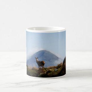 Mug Cerfs communs sur la montagne Les Rousses