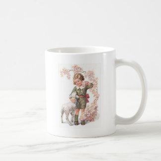 Mug Cerisier victorien d'agneau d'enfant
