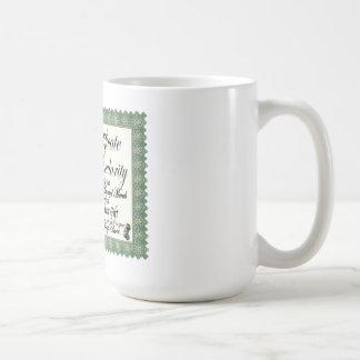 Mug Certificat Merch de Craptacular de Mojo