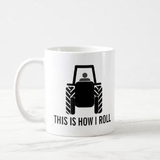 Mug C'est comment je roule le tracteur