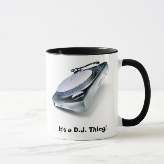 Mug C'est D.J. Thing !