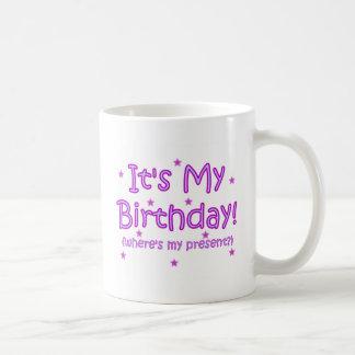 Mug C'est mon anniversaire !