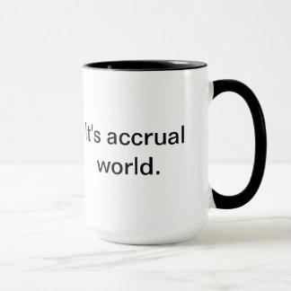 Mug C'est monde d'accumulation