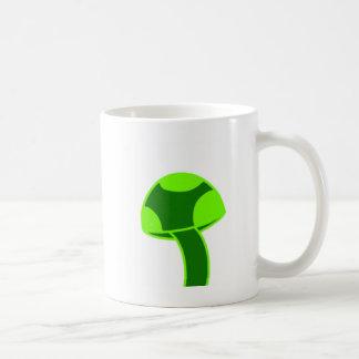 Mug Champignon repéré par vert