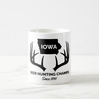Mug Champions de chasse de cerfs communs de l'Iowa