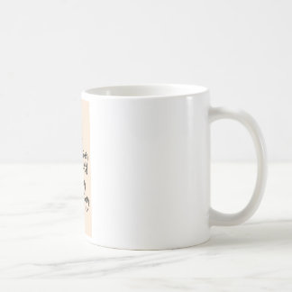 Mug chant de signe de l'eau