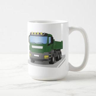 Mug chantiers camion verts