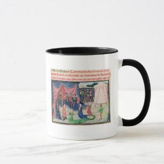 Mug Charlemagne et ses barons étant enchantés