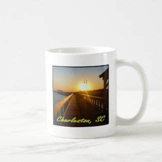 Mug Charleston, coucher du soleil de Sc